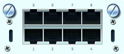 Sophos FleXi Portmodul SG/XG Kupfer